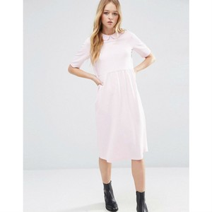 ASOS short dress Pink Lolita Peter Pan Collar Structured Stretch on Tradesy