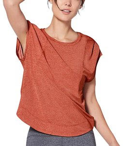 Lululemon Top burnt Siena orange