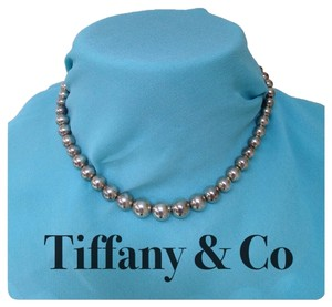 Tiffany & Co. Tiffany & Co Bead Necklace Silver authentic ball necklace stamped