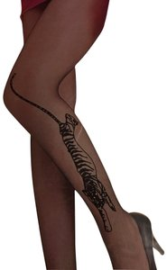 Other Leggings tiger pantyhose 4 pair queen size