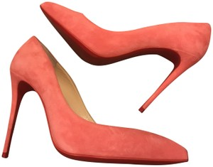 Christian Louboutin Stiletto Pigalle Follies Suede Begonia (Pink) Pumps