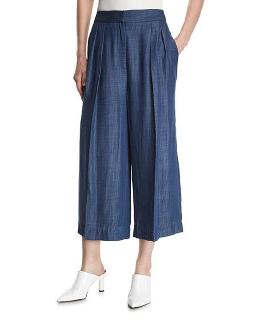 Tibi Capri/Cropped Pants Chambray Image 1