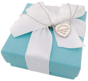 Tiffany & Co. Heart Pendant Necklace