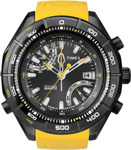 Timex Timex Male Intelligent Watch T2N730 Yellow Analog