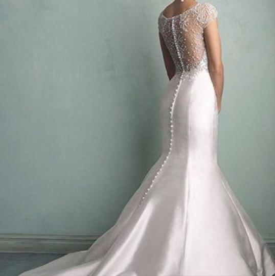 Allure Bridals Wedding Dresses: Allure Bridals Ivory 9158 Modern Wedding Dress Size 10 (M