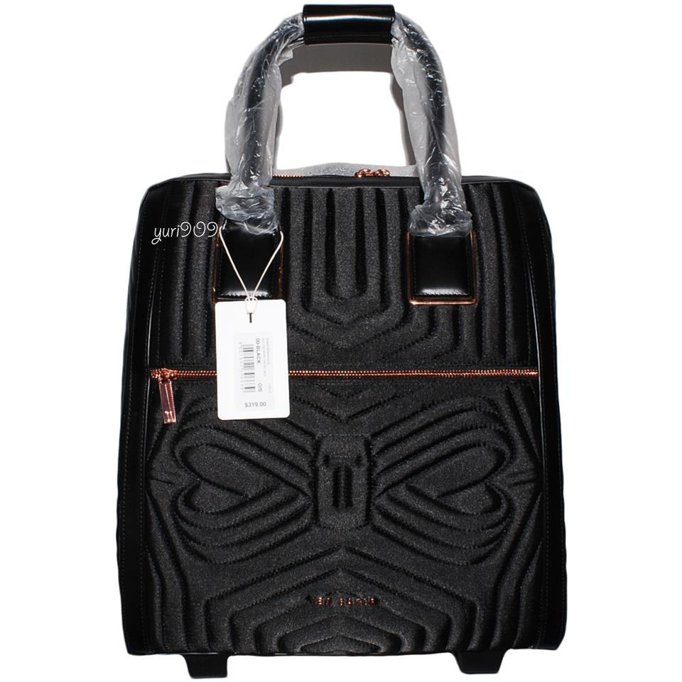 c77f78651b73e Ted baker anisee quilted two wheel black synthetic weekend travel jpg  960x960 Ted baker travel bag