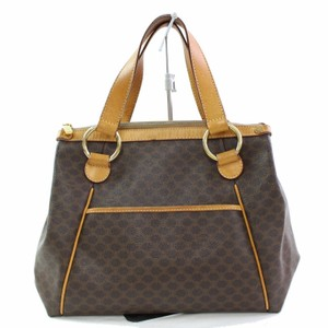 Céline Tote Shopper Satchel in Brown