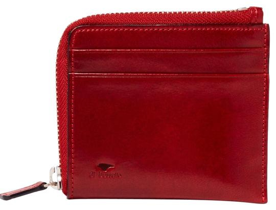 Il Bussetto polished-leather zip-around wallet Image 0