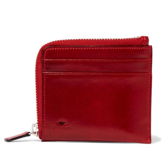 Il Bussetto polished-leather zip-around wallet Image 1