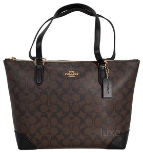 Coach 191202713673 F29208 Tote in BROWN/BLACK