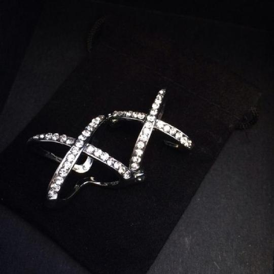 Ring Double X Knuckle Ring Image 1