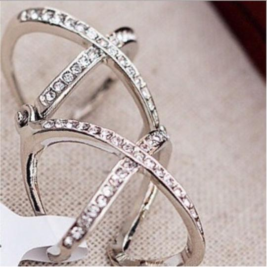 Ring Double X Knuckle Ring Image 4