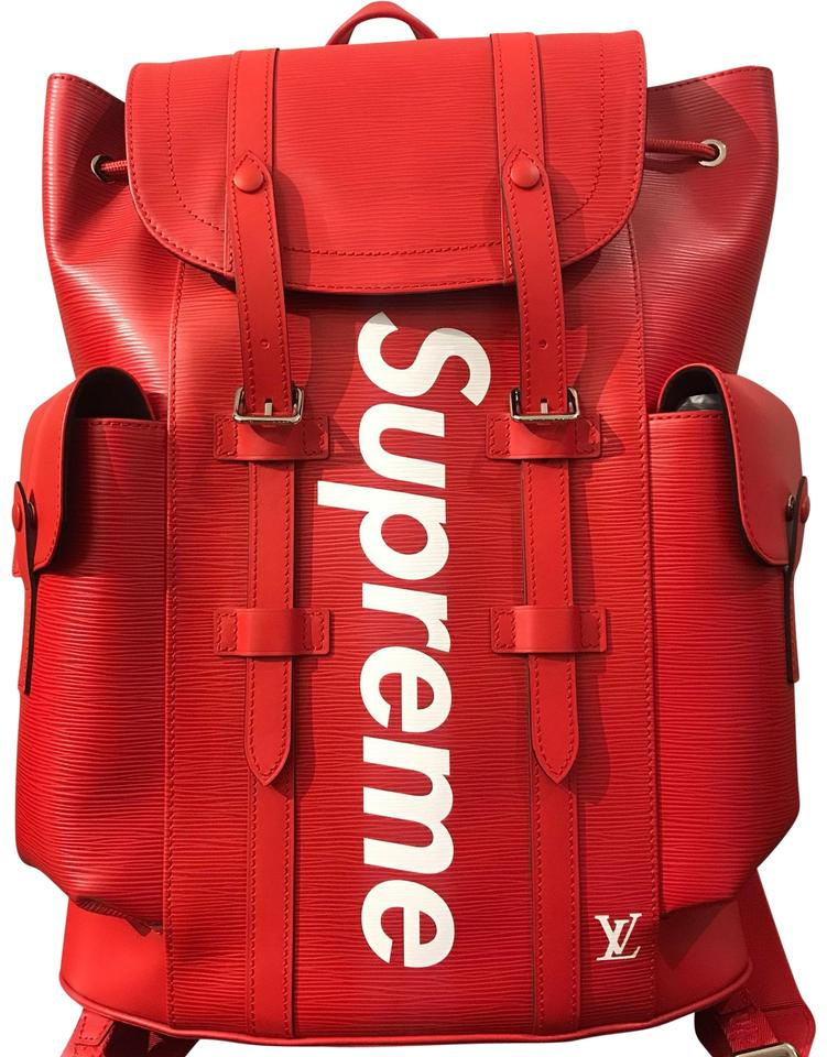 Louis Vuitton X Supreme Backpack Image 0