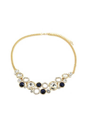 Preload https://img-static.tradesy.com/item/23516249/gold-blue-laps-crystal-necklace-0-0-540-540.jpg