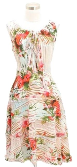Preload https://img-static.tradesy.com/item/23516287/eva-franco-white-pink-green-a12-designer-small-s-4-mid-length-short-casual-dress-size-6-s-0-1-650-650.jpg