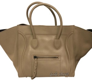 Céline Satchel in beige