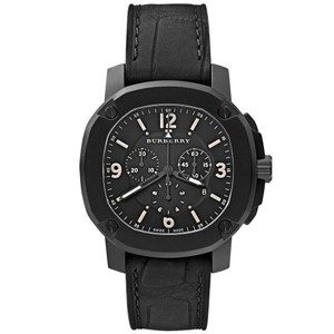 Burberry The Britain Men's Alligator Leather Band Watch