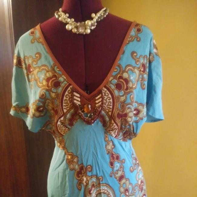 Plenty by Tracy Reese short dress Turquoise on Tradesy Image 1