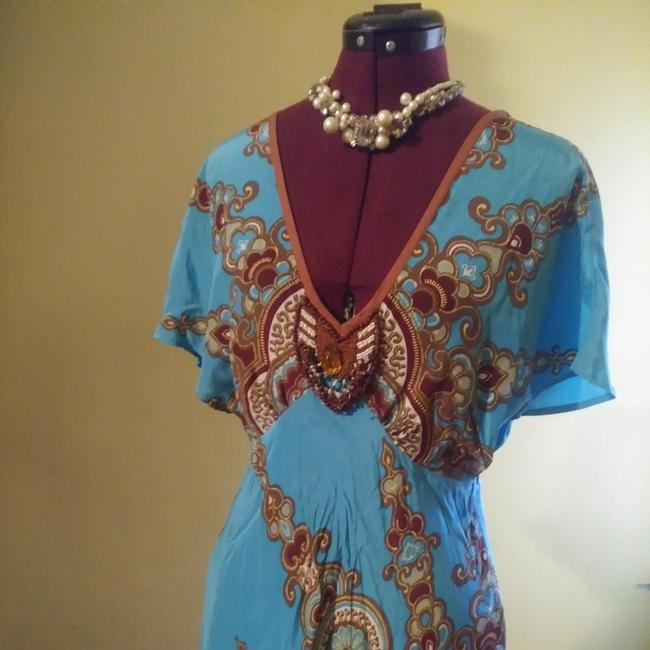 Plenty by Tracy Reese short dress Turquoise on Tradesy Image 4