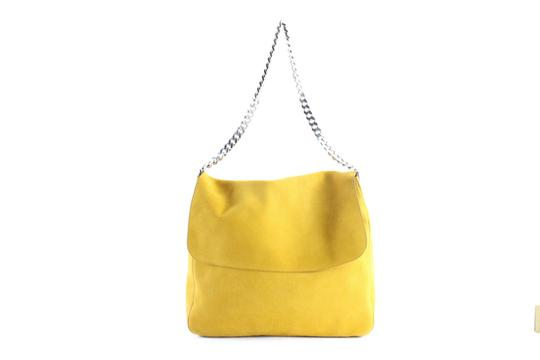 Preload https://img-static.tradesy.com/item/23516553/celine-gourmette-hobo-chain-9cer0613-mustard-yellow-suede-shoulder-bag-0-0-540-540.jpg