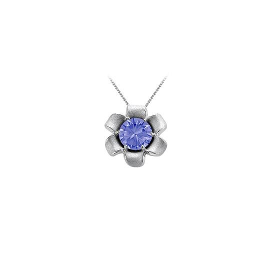 Preload https://img-static.tradesy.com/item/23516645/blue-white-gold-december-birthstone-tanzanite-flower-pendant-in-14k-necklace-0-0-540-540.jpg