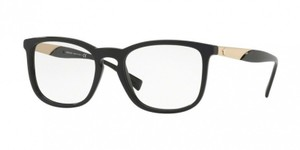 Versace New Versace Women Squared Eyeglasses VE3252A GB1 Black Frame Demo Lens