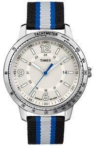 Timex Timex Male Sport Watch T2N754 Silver Analog