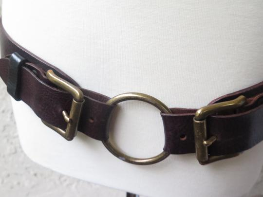 Unknown Black Leather with Ornate Silver Buckle Image 2