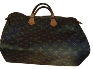 Louis Vuitton Lv Speedy 35 Speedy 35 Monogram Lv Satchel in Brown, Tan