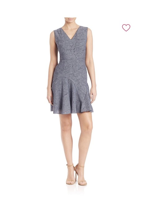 Preload https://img-static.tradesy.com/item/23516884/elie-tahari-denim-elliot-short-casual-dress-size-10-m-0-0-650-650.jpg