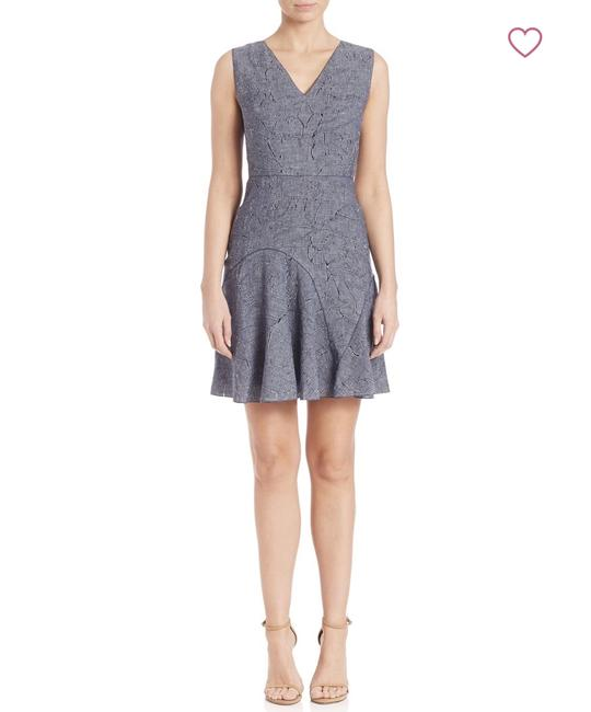 Elie Tahari short dress Denim on Tradesy Image 1
