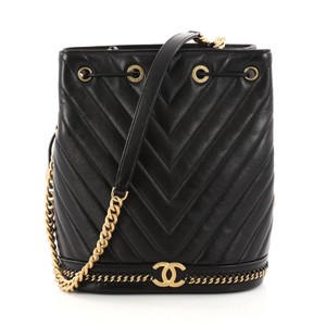 Chanel Paris Leather Shoulder Bag