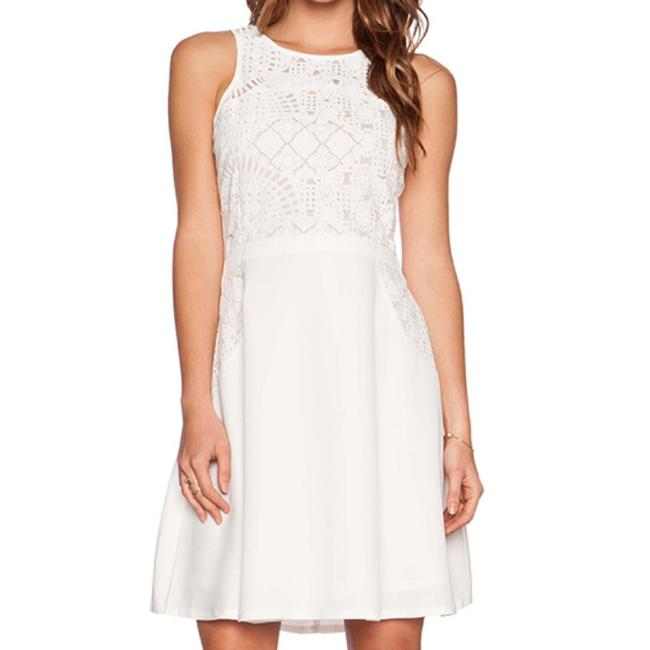 Lumier By Bariano short dress white on Tradesy Image 4