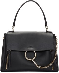 Chloé Faye Day Faye Day Faye Satchel in Black