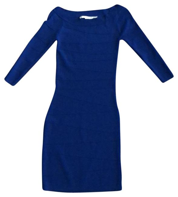 Preload https://img-static.tradesy.com/item/23517213/max-studio-royal-blue-fitted-stretch-short-casual-dress-size-2-xs-0-1-650-650.jpg
