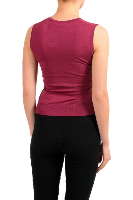 Dsquared2 Top Burgundy Image 1