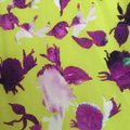 Alice + Olivia short dress Chartreuse with purple flowers. on Tradesy Image 2