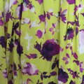 Alice + Olivia short dress Chartreuse with purple flowers. on Tradesy Image 9