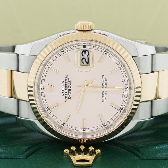 Rolex Rolex Datejust 2-Tone Rose Gold & SS Automatic Mens