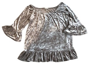 Beach Lunch Lounge Crushed Velvet Tunic