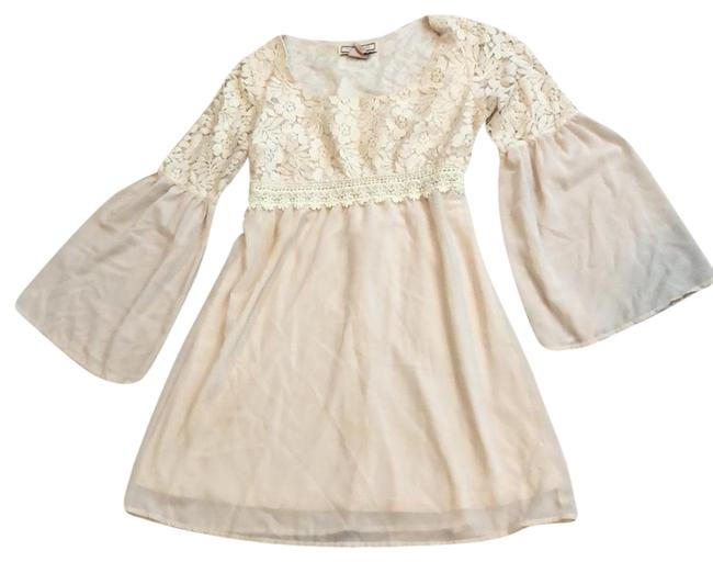 Preload https://img-static.tradesy.com/item/23517589/flying-tomato-ivory-flared-bell-sleeves-short-casual-dress-size-6-s-0-1-650-650.jpg