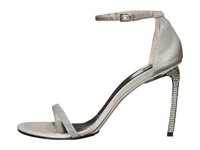 Item - Silver Gleam Chrome Raso Bridal & Evening Collection Sandals Formal Shoes Size US 8.5 Regular (M, B)