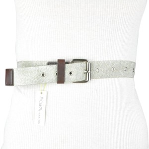 BCBGeneration Silver Stretch Belt XS/S
