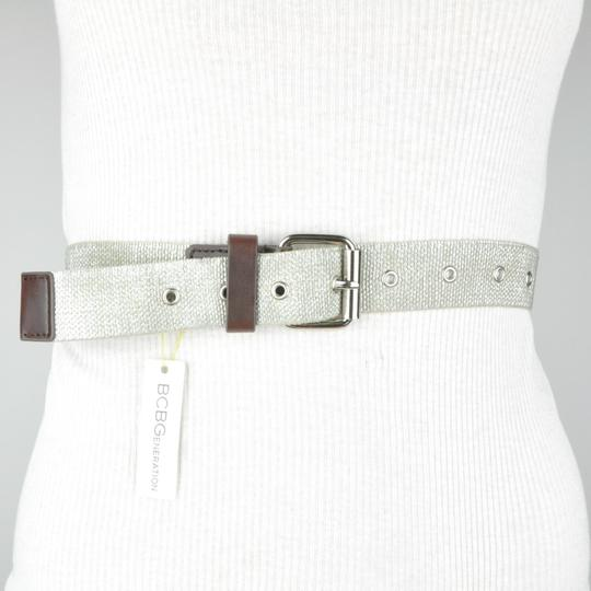 BCBGeneration Silver Stretch Belt XS/S Image 2