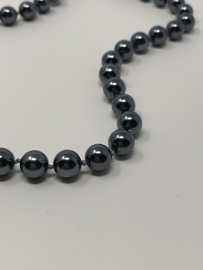 Carolee Carolee Round Faux Black Pearl Ball Necklace Image 2