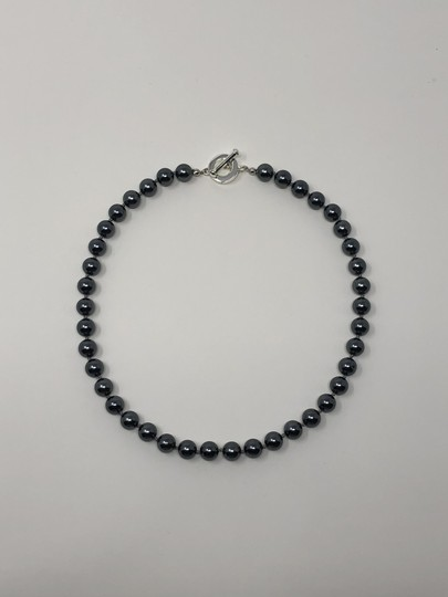 Carolee Carolee Round Faux Black Pearl Ball Necklace Image 3