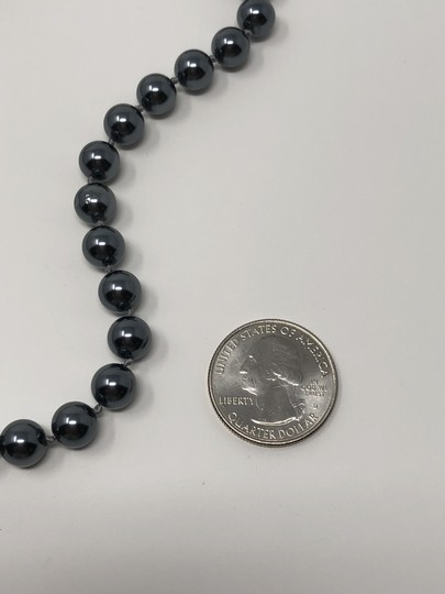 Carolee Carolee Round Faux Black Pearl Ball Necklace Image 5