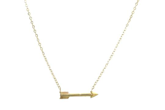 Preload https://img-static.tradesy.com/item/23517913/yellow-gold-14kt-arrow-pendant-for-women-necklace-0-0-540-540.jpg