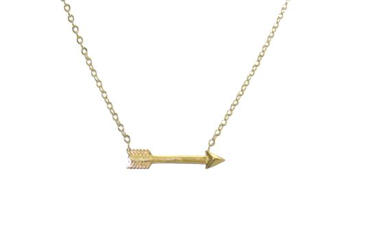 Other 14KT. Yellow Gold Arrow Pendant For Women Image 1