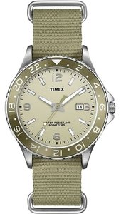 Timex Timex Male Ameritus Watch T2P035 Green Analog